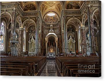 Homage To Pope Francis I Canvas Print by David Bearden