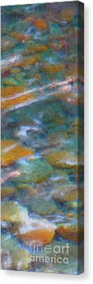 Homage To Van Gogh 2 Canvas Print by Carol Groenen
