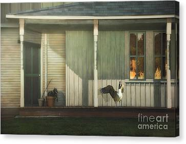 Home Alarm System Canvas Print by Tom York Images