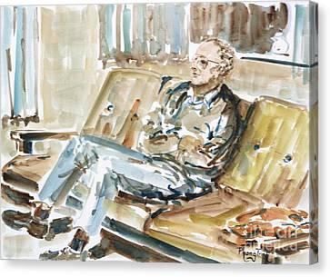 Phong Trinh Canvas Print - Home Alone by Phong Trinh