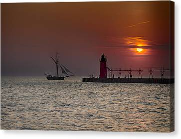 Home Bound Canvas Print