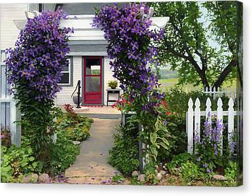 Home Canvas Print by Bruce Morrison