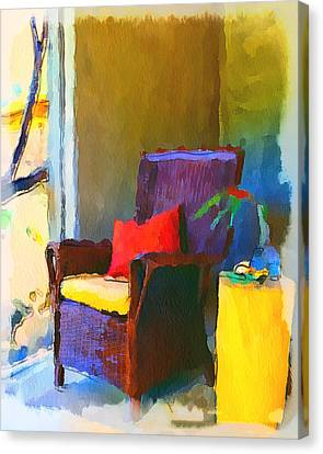 Home Chairs Canvas Print by Yury Malkov