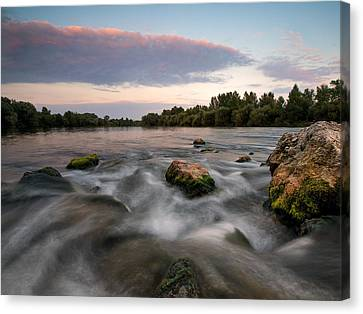 Home Canvas Print by Davorin Mance