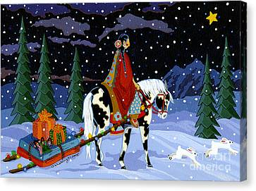 Home For The Holidays Canvas Print by Chholing Taha