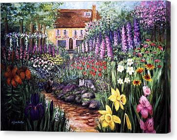 Home Garden Canvas Print