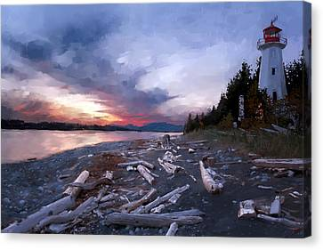Home Canvas Print by Gary Lyons