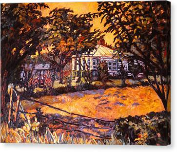 Home In Christiansburg Canvas Print by Kendall Kessler