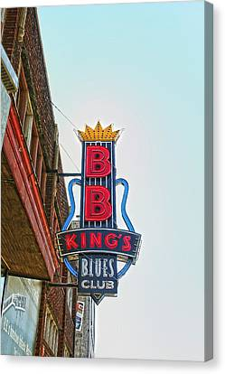 Home Of The Blues Canvas Print by Suzanne Barber