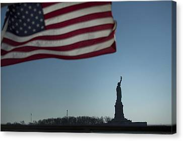 Home Of The Brave Canvas Print by Mark Milar