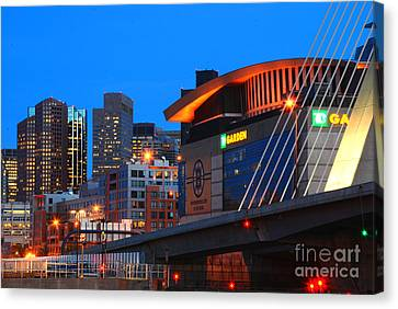 Home Of The Celtics And Bruins Canvas Print