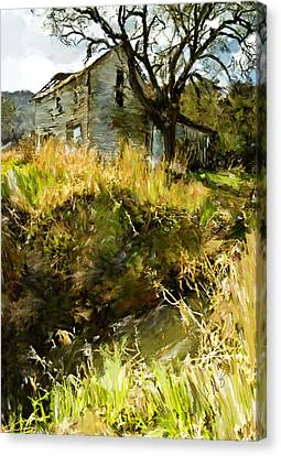 Home Of Yesteryear Canvas Print by Dale Stillman