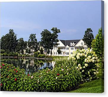 Home On The Golf Course Canvas Print