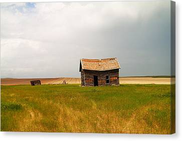 Home On The Range  Canvas Print by Jeff Swan