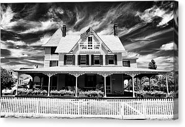 Home Shore Home Canvas Print by John Rizzuto