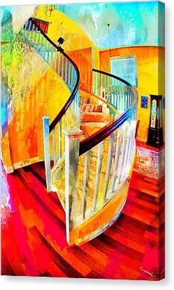 Home Canvas Print by SM Shahrokni
