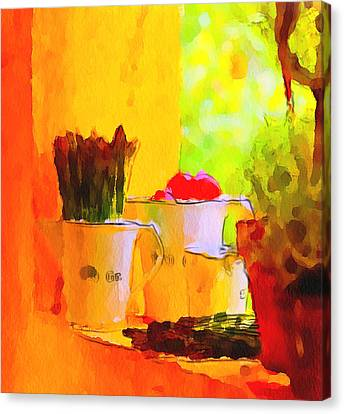 Home Still Life Canvas Print by Yury Malkov