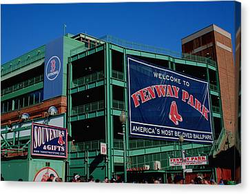 Home Sweet Fenway Canvas Print by Stephen Melcher