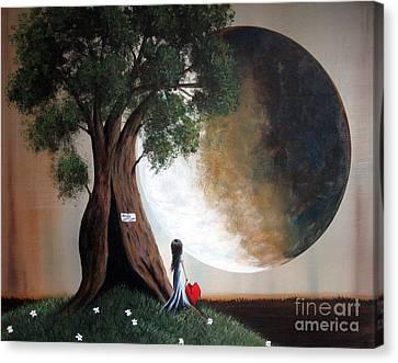 Home Sweet Home By Shawna Erback Canvas Print by Shawna Erback