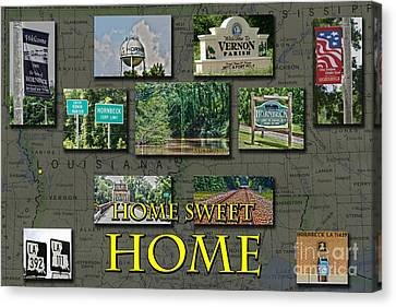 Home Sweet Home Canvas Print by D Wallace