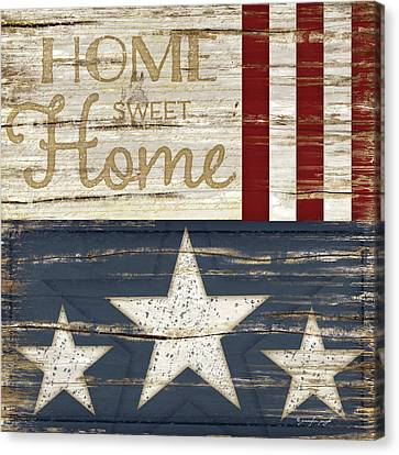 Home Sweet Home Canvas Print by Jennifer Pugh