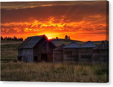 Home Sweet Home Canvas Print by Mark Kiver