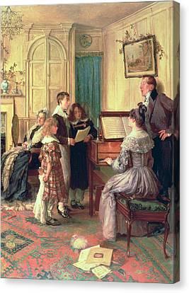 Home Sweet Home Canvas Print by Walter Dendy Sadler