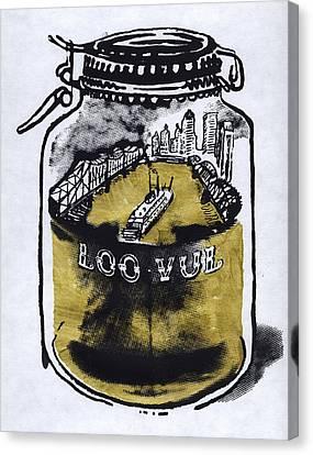 Homebrew Canvas Print by Kyle Huninghake