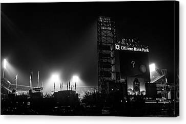Homefield Lights Canvas Print