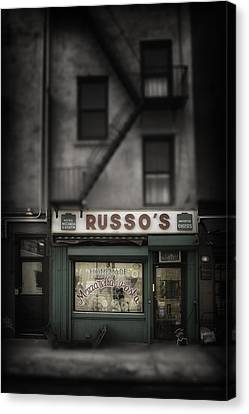 Canvas Print featuring the photograph 'homemade' by Russell Styles