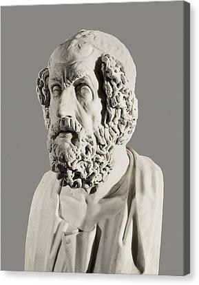 Homer 9th Century  Bc. Roman Copy Canvas Print by Everett