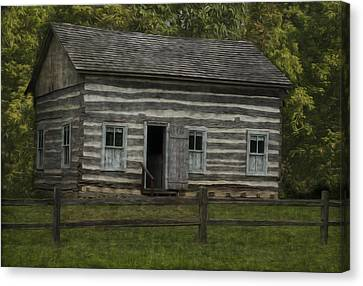 Homestead 3 Canvas Print by Jack Zulli