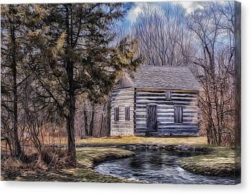 Homestead 4 Canvas Print by Jack Zulli