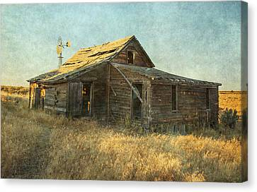 Homestead Canvas Print by Angie Vogel