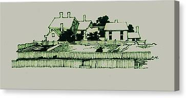 Homestead Canvas Print by Dale Michels