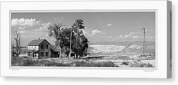 Homestead Canvas Print by John Bushnell