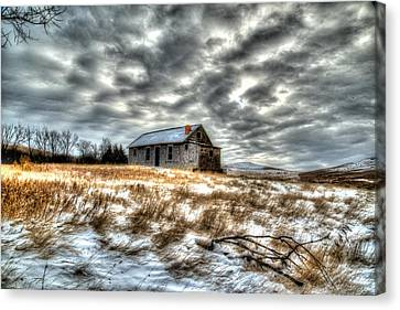 Canvas Print featuring the photograph Homestead by Kevin Bone