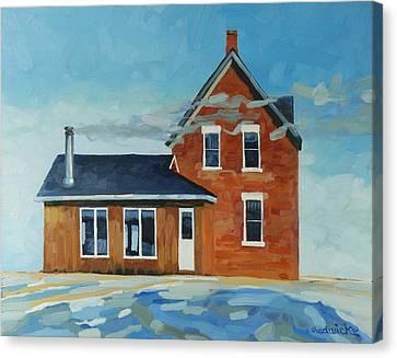 Salt Air Canvas Print - Homestead -west Wind by Phil Chadwick