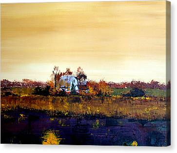 Homestead Canvas Print by William Renzulli