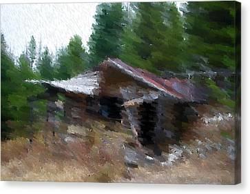 Homesweethome Canvas Print by Kevin Bone