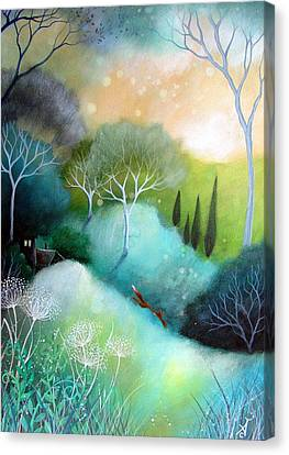 Homeward Canvas Print by Amanda Clark