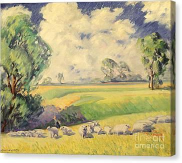 Homeward Bound 1936 Canvas Print