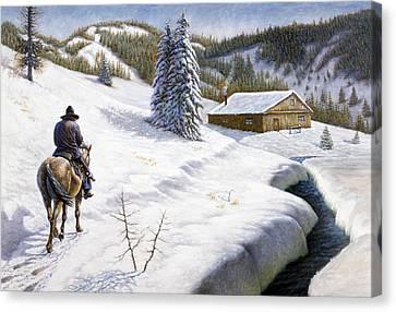 Homeward Bound Canvas Print by Gregory Perillo