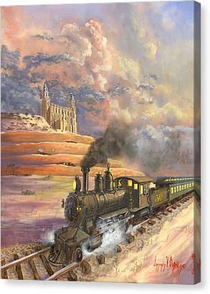 Homeward Bound Canvas Print by Jeff Brimley