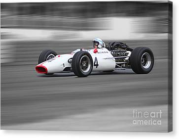 Honda Ra300 F1 Canvas Print by Roger Lighterness