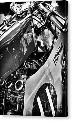 Tim Canvas Print - Honda Rc by Tim Gainey