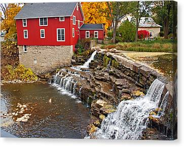 Honeoye Falls 1 Canvas Print by Aimee L Maher Photography and Art Visit ALMGallerydotcom