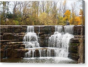 Honeoye Falls 2 Canvas Print by Aimee L Maher Photography and Art Visit ALMGallerydotcom
