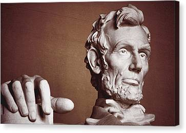 Canvas Print - Honest Abe by Jame Hayes