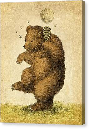 Honey Bear Canvas Print by Eric Fan